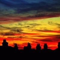 Stripy Sky in Ryde