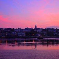 Pink Ryde Evening