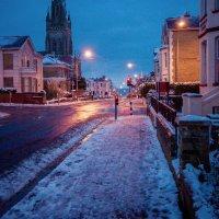 Snowy Street Scene, Ryde