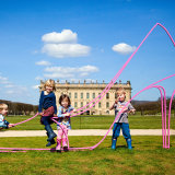 Chatsworth mini family portrait session