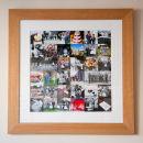 "18""x18"" framed AOTW Amy & Michael"