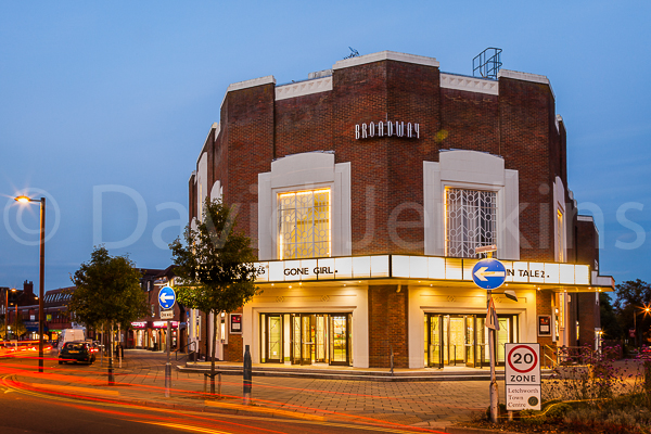 Letchworth Garden City's Broadway cinema.