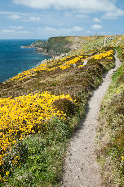 South west coast path to Cape Cornwall