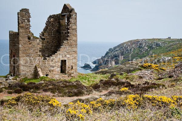 Tin mine ruins, Cornwall