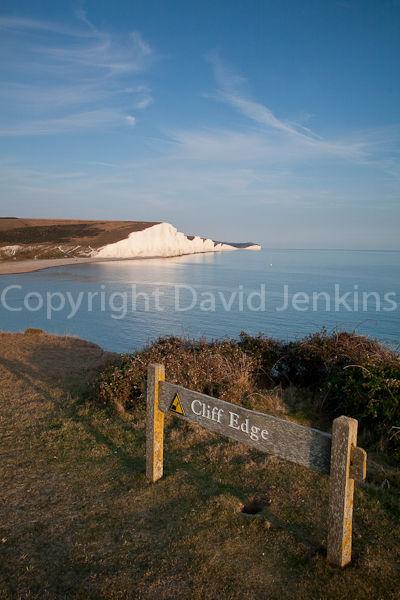 Seven Sisters cliffs.  Cuckmere Haven, East Sussex