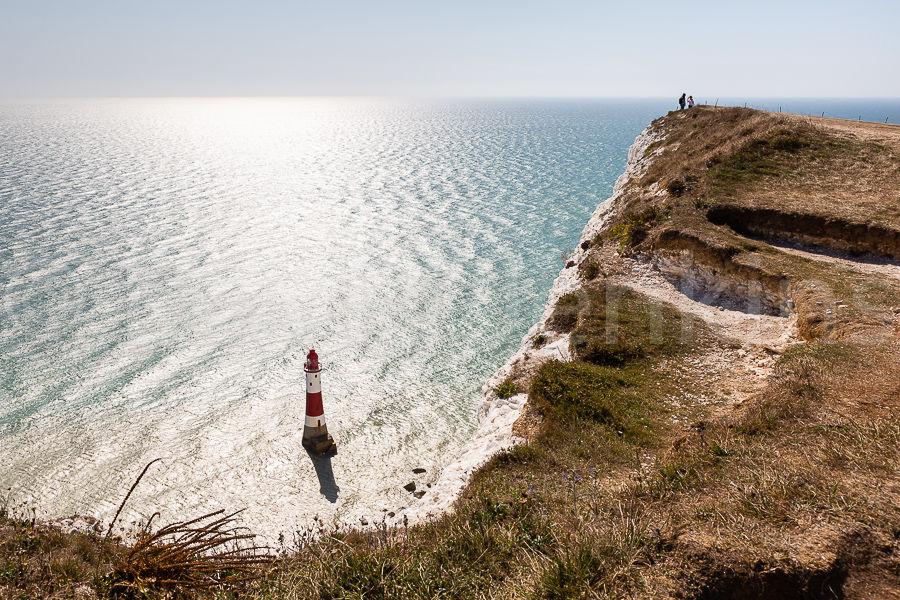 Beachy Head lighthouse.