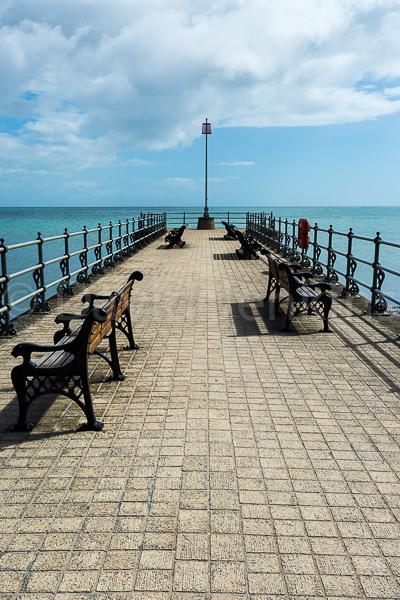 Promenade jetty, Swanage, Dorset