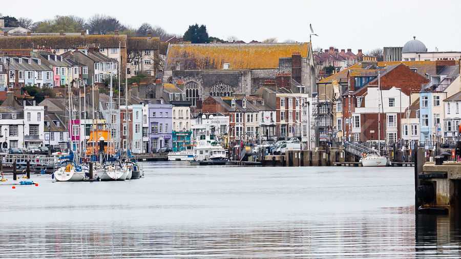 The Old Harbour, Weymouth, Dorset.