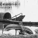 Boats on Vedana Lagoon, Central Vietnam