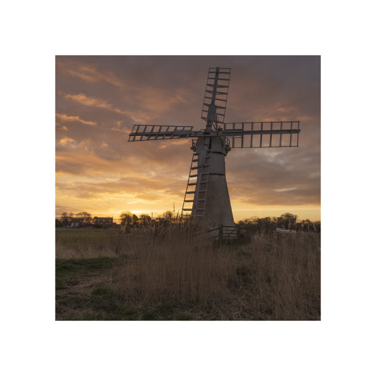Dawn over Thurne Mill