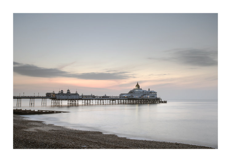 Dawn over Eastbourne Pier