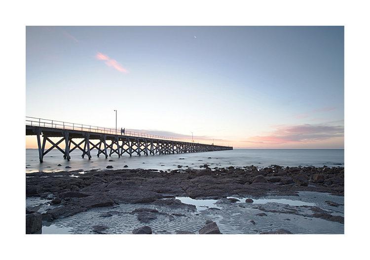 Sunset over Port Hughes