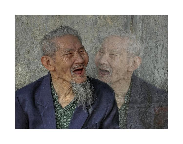 Old Viet Cong man