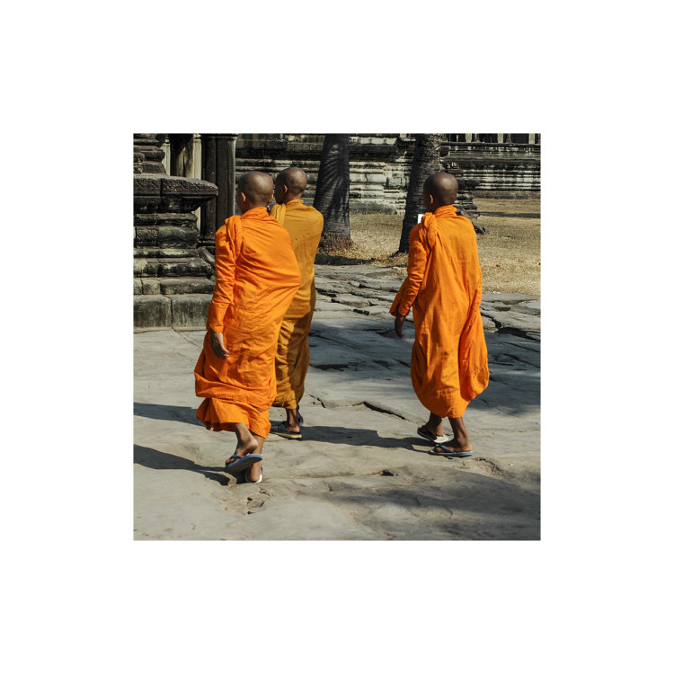 Monks in Phnom Penh