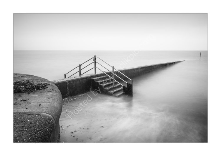 The other side of the groyne
