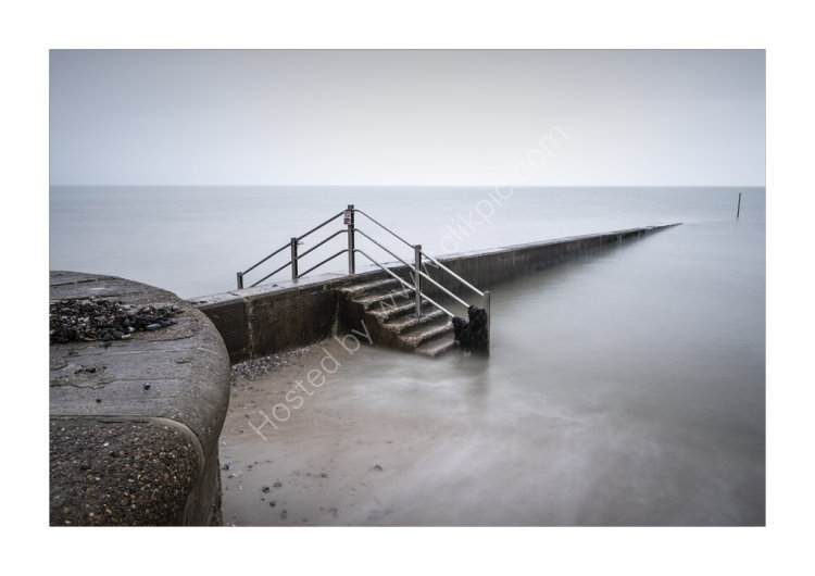 The other side of the Groyne in colour