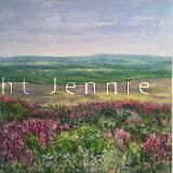 Across the Moors (towards the sea) From an original oil painting.