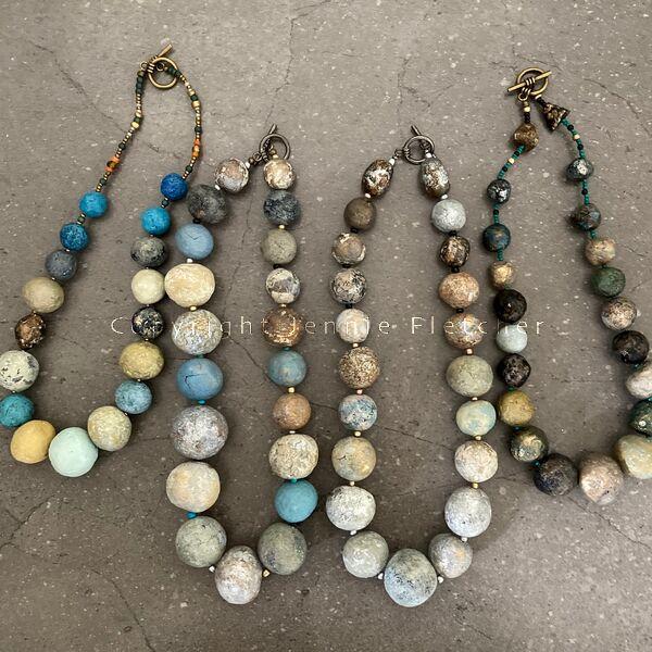 De Terra necklaces 2021