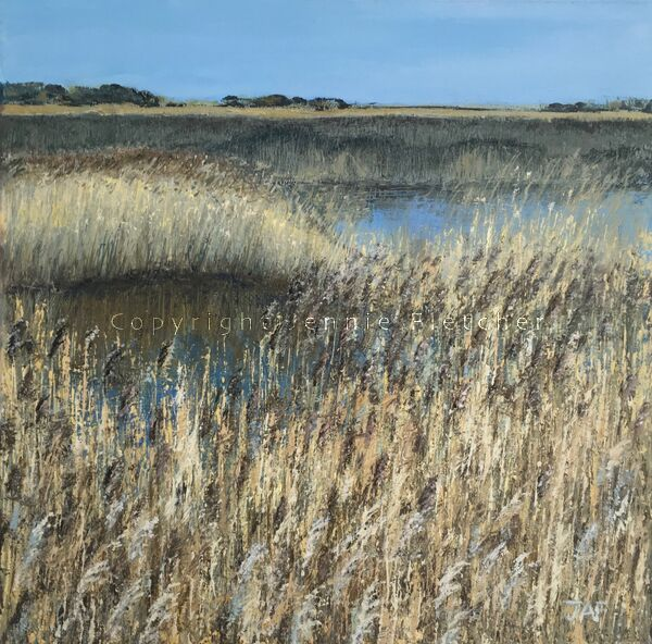 """""""Minsmere Walk II"""" From an original oil painting."""