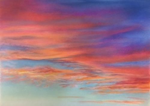 Sunset light show