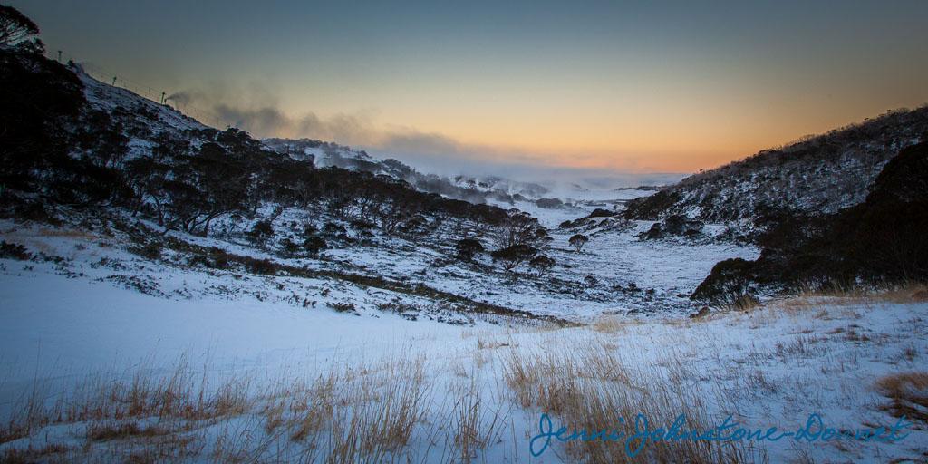 Perisher Valley Sunset