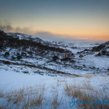 Perisher Valley Sunset