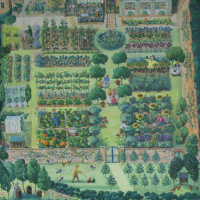 Pythouse Kitchen Garden, Tisbury