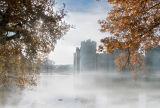 Bodium Castle in Mist