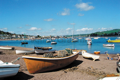 View of The Teign from Back Beach, Teignmouth