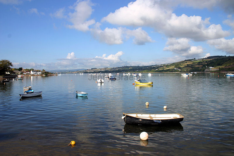 View up the Teign from Shaldon