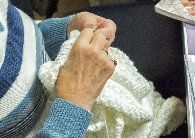 Crafter's Club:-  Knitting, Crochet and Paper Crafting.