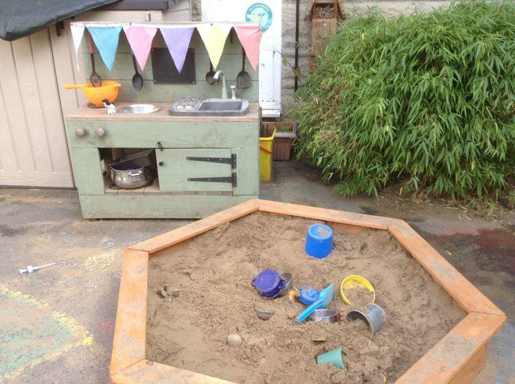 Playgroup Sand Kitchen