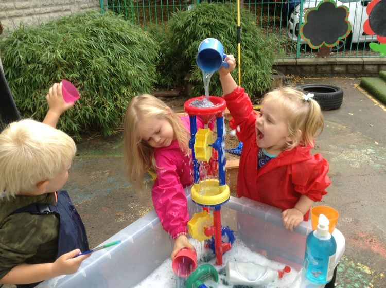 Playgroup Water Play