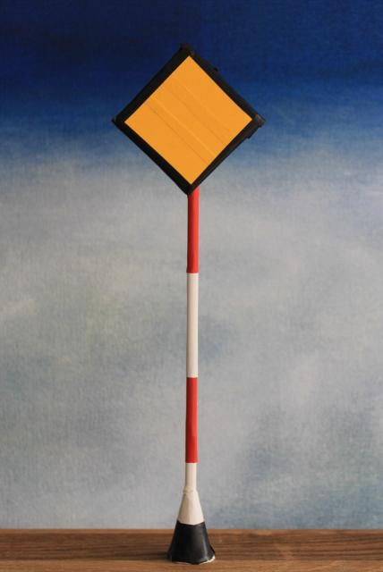 Cable post maquette