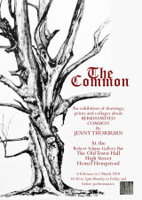 Poster for The Common exhibition February 2018