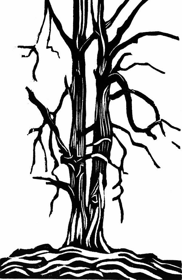 Woodcut 6 Twin