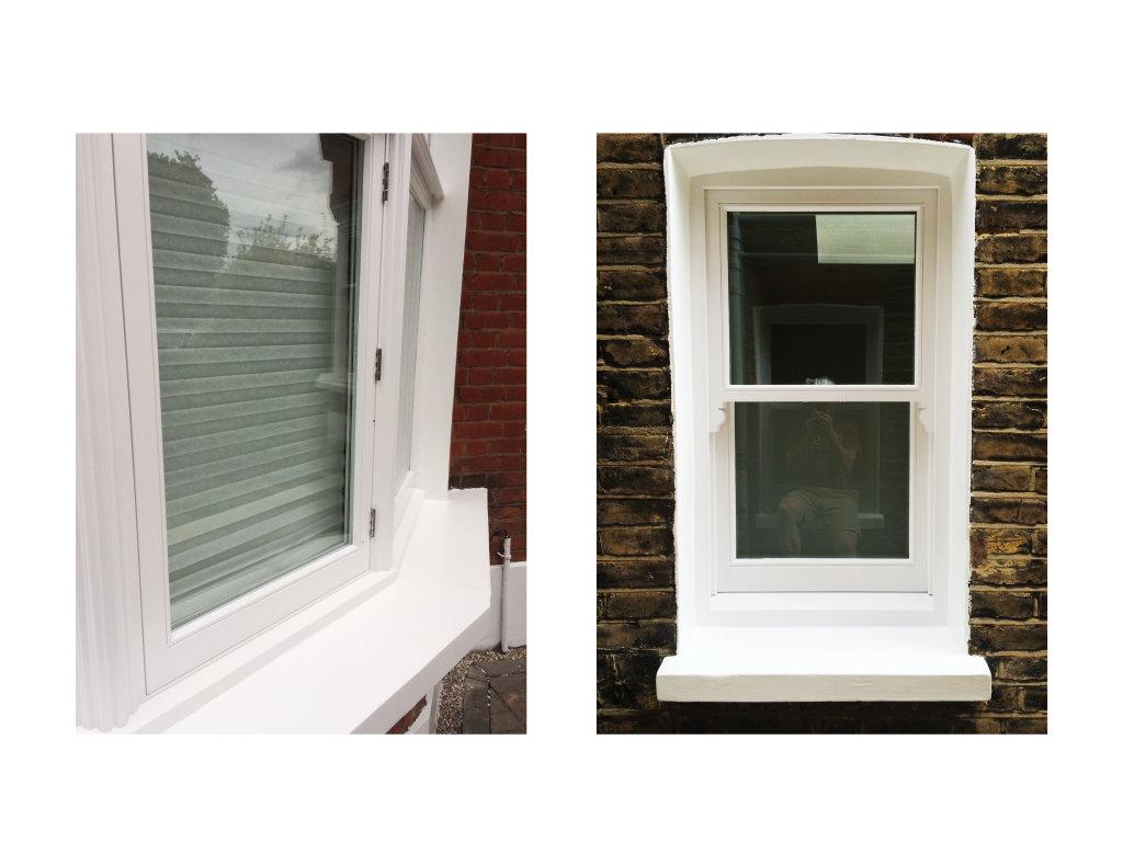 Exterior windows E12