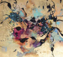 Crushed opal detail