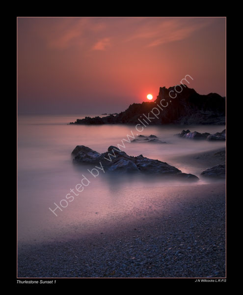 THURLESTONE-SUNSET-1