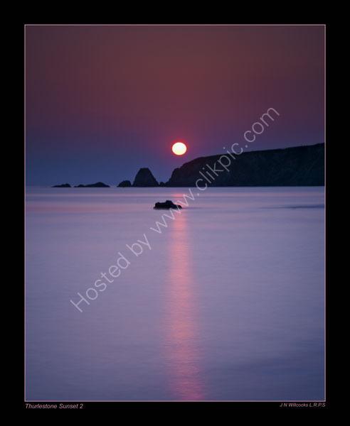 THURLESTONE-SUNSET-2