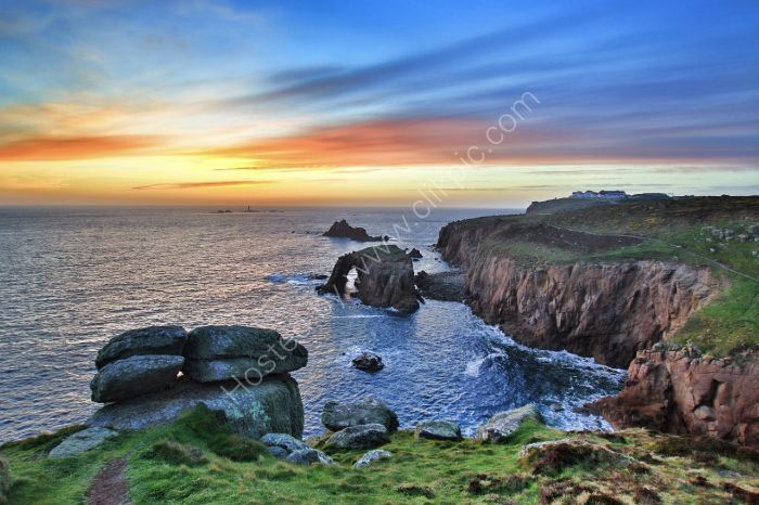 157-Land End sunset