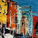 Burano Reflections, Venice