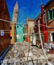 Burano Tower, Burano, Venice