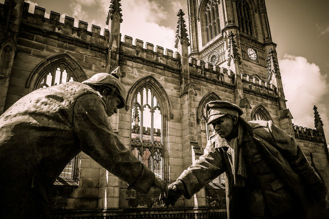 """""""The Truce"""" St Lukes Liverpool"""