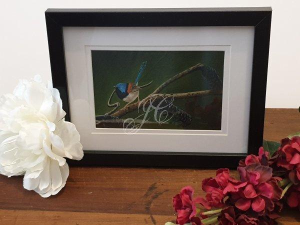 Framed Fine Art Giclee Print - Fabulously Divine