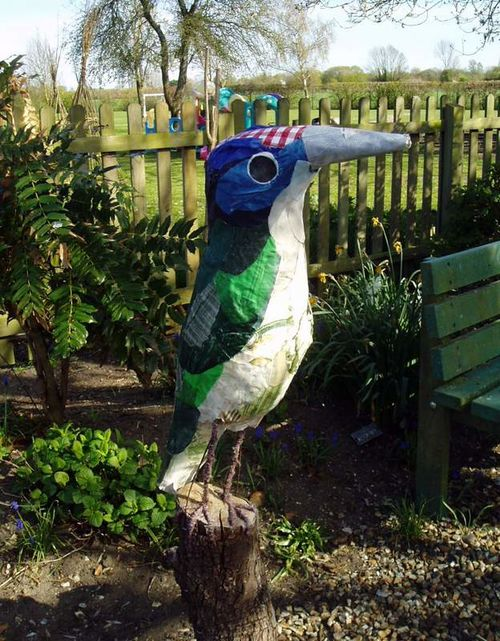 'Kingfisher' - outdoor sculpture