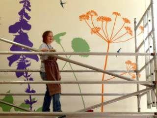 Mural for Green Lane View Housing-with-Care, Aylsham, Norfolk