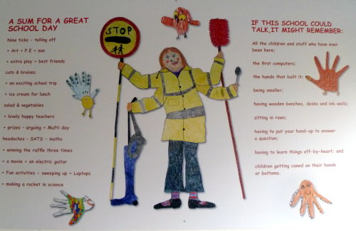 Walsingham Primary School 100th Anniversary Mural 2012 (section)