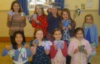 Children's Party, making Owls and Elephants 2013