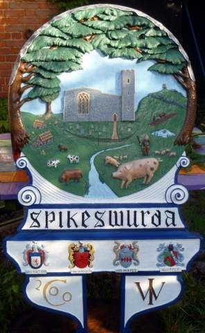Spixworth village sign